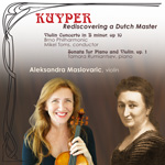 Album cover for Kuyper, Rediscovering a Dutch Master